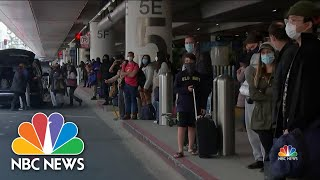 Biden To Reinstate Travel Ban On Certain Non-U.S. Travelers | NBC Nightly News