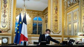 Premier entretien téléphonique entre Emmanuel Macron et Joe Biden depuis sa prise de fonction