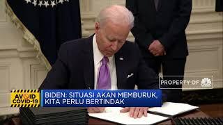 Biden 'Tutup Pintu' AS dari  Inggris, Afsel dan Brasil