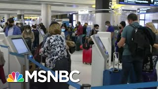 Biden To Impose Travel Ban For Non-U.S. Citizens Traveling From South Africa Amid Covid Concerns