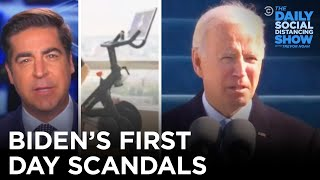 Biden's First Day Scandals | The Daily Social Distancing Show