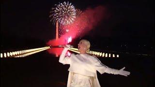 Katy Perry performs 'Firework' in Joe Biden - Kamala Harris Inauguration concert