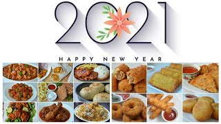 HAPPY NEW YEAR 2021 by (YES I CAN COOK)