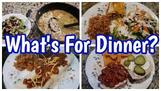 What's For Dinner? Jan 10, 2021 | Cooking for Two | Easy Weeknight Meals