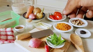 Welcome 2021 Mini Culinaire six Compilation videos 2020 miniature cooking real food