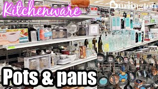 BURLINGTON KITCHEN ESSENTIALS, COOKWARE, GLASSWARE KITCHEN IDEAS SHOP WITH ME 2021