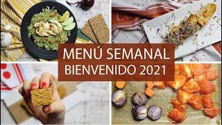 MENÚ SEMANAL SALUDABLE (Batch cooking) | PARA EMPEZAR BIEN EL 2021
