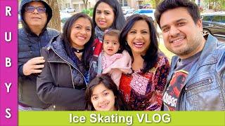 No Cooking! Ice Skating, Waterfall & Mall Tour VLOG in Urdu Hindi - RKK