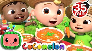 Cooking With Vegetables Song + More Nursery Rhymes & Kids Songs - CoComelon