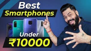 Top 5 Best Mobile Phones Under ₹10000 Budget ⚡ January 2021