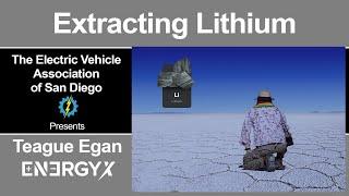 EnergyX Lithium Production Technology - January 2021