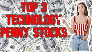 BEST 3 TECHNOLOGY PENNY STOCKS TO BUY IN JANUARY 2021 - PENNYSTOCKS 2021 - TENBAGGER PENNY STOCKS