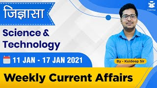 11 - 17 January 2021 | Science and Technology | Weekly Current Affairs | IAS Prelims 2021