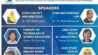 LIVE STREAM SEMINAR ON TECHNOLOGY IN SCIENCE EDUCATION, 22 JANUARY 2021