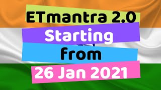 ETmantra 2.0  starting from 26 January 2021 - Video | Audio | Web Technologies