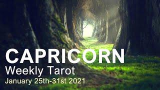 """CAPRICORN WEEKLY TAROT READING """"A MAJOR TURNING POINT CAPRICORN!"""" January 25th-31st 2021 #Youtube"""