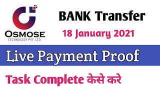 Osmose technology   Payment Proof Withdrawal   January 2021 osmose technology
