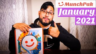 MunchPak January 2021: Unboxing and Tasting