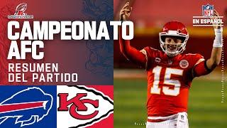 Mahomes y los Chiefs buscarán el bicampeonato en el Super Bowl LV | Resumen | Campeonato AFC