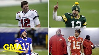 NFL's final 4 set to face off for Super Bowl spots