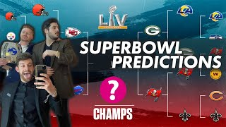 2021 Super Bowl LV Predictions GUARANTEED TO BE CORRECT (Live Stream)