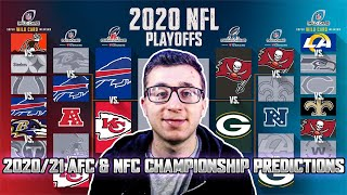 My 2020-2021 NFC & AFC Championship Predictions! Who is going to the Super Bowl?