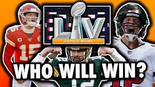 Super Bowl 55 NFL Playoffs Predictions (2021)