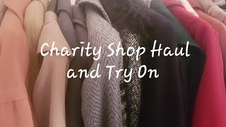 Charity Shop Haul and Try On | Affordable Fashion | Thrift | January 2021 again