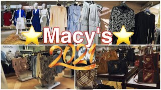 MACY'S ❤️ NEW FASHION COLLECTION JANUARY 2021 ❤️ DRESSES TOPS GOWNS HANDBAGS SHOP WITH ME