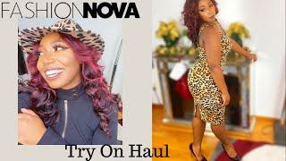 Fashion Nova Try-On Haul| January 2021