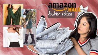 Amazon Fashion TRY-ON HAUL January 2021!! *HIDDEN GEMS* Latest India Haul | The Chic Gazette