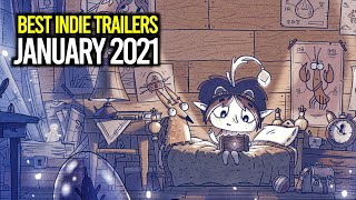 10 NEW Indie Game Trailers to watch this January 2021