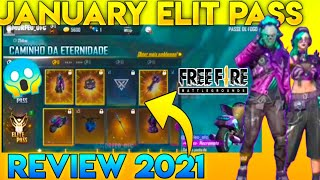 ELITE PASS JANUARY 2021 REVIEW ||MNG GAMING || FREEFIRE