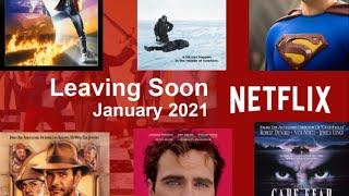 Leaving Netflix in January 2021