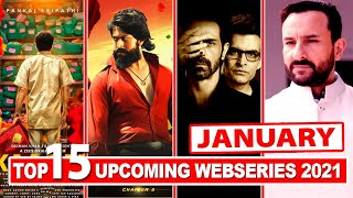 Top 15 Upcoming Web Series and Movies in January 2021 | Netflix | Amazon Prime | Disney Hotstar