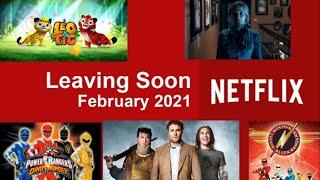 Leaving Netflix in February 2021