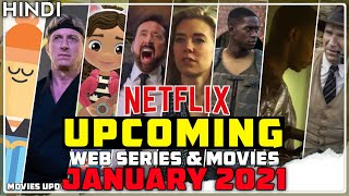 Top Upcoming Netflix Web Series and Movies in January. 2021 | Movies Update