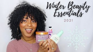 Top 10 Winter Beauty Essentials 2021 ❄️ | CurlyNiqueNique