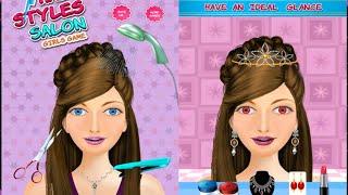 New Hair Style Salon Girls Games 2021| Best Beauty Hair Care Salon Games | Best Game For Kids