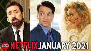 NETFLIX - Best NEW Movies & Series coming in JANUARY 2021
