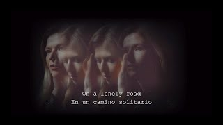 Still Corners - White Sands (Official Lyric Video - English and Spanish)