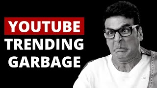 YOUTUBE TRENDING TAB GARBAGE | what's wrong with youtube trending tab