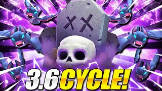 #1 TRENDING GRAVEYARD DECK IN CLASH ROYALE!! IT'S FINALLY BACK!!
