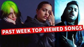 Global Past Week Most Viewed Songs on Youtube [25 January 2021]