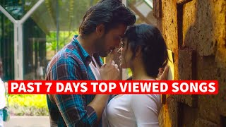 Past 7 Days Most Viewed Indian Songs on Youtube [25 January 2021]