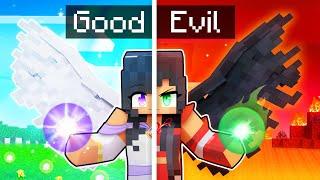 Aphmau is Half GOOD Half EVIL in Minecraft!