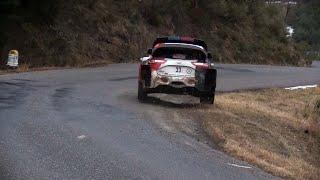 WRC Rallye Monte Carlo 2021 Best of  Day 2