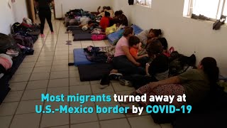 Most migrants turned away at U.S.-Mexico border by COVID-19 policy
