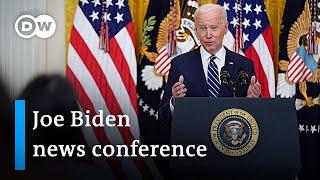 Joe Biden's first press conference as US President | DW News