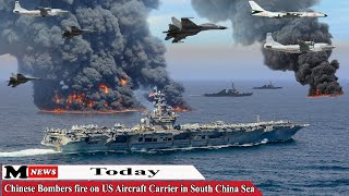 Today (March 28, 2021): Chinese Bombers fire on US Aircraft Carrier in South China Sea
